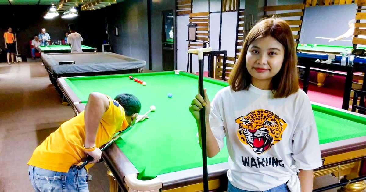 TPD Snooker คิวออย โวลเค่น