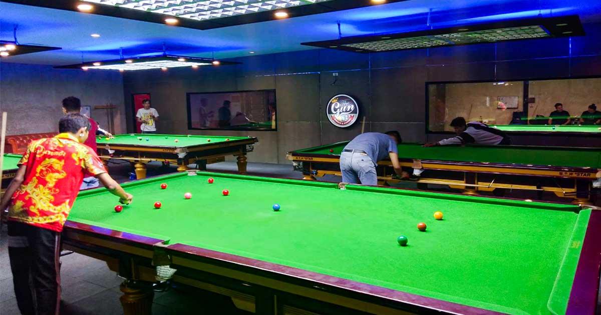 The gun Snooker คิวออย โวลเค่น